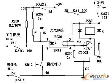 ③光电耦合器输入输出电路间的绝缘电阻很大,可以避免公共地线环流
